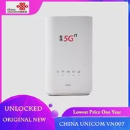 New China Unicom VN007 With Sim Card 2.3Gbps Wireless CPE Pro Support 5G NSA/SA NR n1/n3/n8/n20/n21/n77/n78/n79 4G LTE Band1/3/8