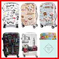 ร้านแนะนำกระเป๋าเดินทาง กระเป๋าเดินทางล้อลากลายการ์ตูน กระเป๋าเด็ก กระเป๋าล้อลากเด็ก 20 24 28 นิ้ว ลายเมือง ต่างประเทศ น่ารัก