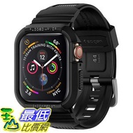 [8美國直購] 保護殼 Spigen Rugged Armor Pro Designed for Apple Watch Case for 44mm Series 4 , 5 - Black