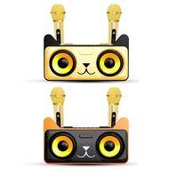 SD305雙人K歌無線麥克風音箱 支援無線連結 雙10W喇叭 手機座 多模式播放