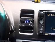 【精宇科技】TOYOTA WISH 冷氣出風口多功能儀錶 水溫 轉速 電壓 OBD2 OBDII