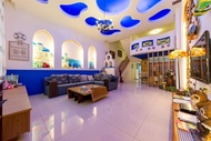住宿 浪漫希臘民宿8人3套房包棟 不與主人同住 有客廳 餐廳 廚房 兒童遊戲閣樓 台灣地區
