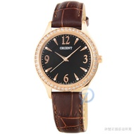Orient Watch Elegant Quartz Belt Women Watch - Rose Gold/fqc 10004 T
