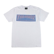 THRASHER HOMETOWN 3D圖騰 經典短袖 -WHITE【HopesTaiwan】