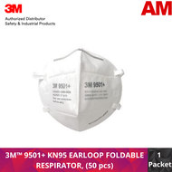3M™ 9501+Particulate Respirator , KN95/P2 (50 pcs)