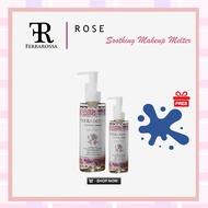 FERRAROSSA BEAUTY | Ferrarossa Soothing Rose Makeup Melter 150ml | Makeup Remover