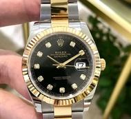 (ซื้อต่างประเทศ) Zhai Zhi 126333 เส้นผ่านศูนย์กลาง 41 มม. 18k ทอง (ราคาเดิม 522650 บาท)นาฬิกาเชิงกลอัตโนมัติ  (นาฬิกาผู้ชายที่ประสบความสําเร็จ)