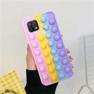 Phone  Case For Realme C21Y Realme C3 Realme 5i Realme C25S C15 C17 Realme C12 6i 6 C3 C11 Realme7 Pop Push It Bubble DSD
