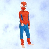 ☆瘋狂派對☆萬聖節服飾,萬聖節裝扮,聖誕舞會,變裝派對,蜘蛛人服裝.兒童變裝服-蜘蛛人裝