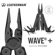 [ LEATHERMAN ] Wave+工具鉗 黑 黑尼龍套 / 18 tools / 公司貨 832526