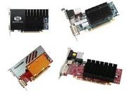 拆機藍寶石等HD5450 6450 128M 256M 512M 1G 2G亮機顯卡HDMI靜音