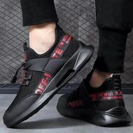 Men Sneakers รองเท้าผ้าใบแฟชั่นรองเท้าผ้าใบรองเท้าแฟชั่นร้องเท้ารัดส้นรองเท้าคัชชู ผช รองเท้าผ้าใบผู้ชายรองเท้าลำลองผู้ชาย