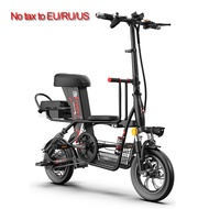 electric bicycle 12-inch Folding  electric bike Removable battery electric bicycle travel folding bike folding bicycle