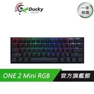 Ducky ONE 2 Mini RGB DKON1861ST 61鍵 黑蓋 機械鍵盤 60% 電競鍵盤