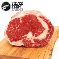 【銀蕨牧場-買1送1】頂級肋眼沙朗牛排0.6kg組(薄厚任選.共1.2kg)