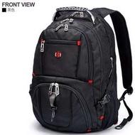 現貨正品新品SwissGear瑞士軍刀雙肩包USB旅行背包17吋 大容量 休閒運動包 電腦包 商務包