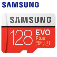 【Samsung 三星】128GB 100MB/s EVO Plus microSDXC TF UHS-I U3 記憶卡(平輸)