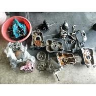 達成拍賣 山葉 馬車 250 引擎零件 汽缸 缸頭組 KS 曲軸 啟動馬達 傳動組 空濾組 化油器 齒輪箱 電盤 傳動蓋