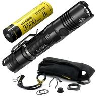 NITECORE奈特科爾P12GT+18650充電池1000流明LED戶外露營手電筒
