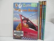 【書寶二手書T4/原文小說_CKT】A to Z Mysteries-The Panda Puzzle_The Orange Outlaw等_5本合售