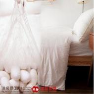 【LUST】6x7尺《100%桑蠶絲被 3.1公斤》60支棉緹花表布