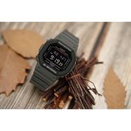 【CASIO 卡西歐】G-SHOCK 軍事風手錶-槍灰(DW-5610SU-8)