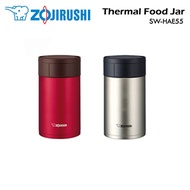 Zojirushi Stainless Steel Thermal  Food Jar / SW-HAE55 /Capacity 0.55L / Authetic Local Set