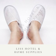 Non Woven Disposable Slipper For Hotel & Airbnb (1 Pair)