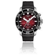 TISSOT 天梭手錶Seastar 1000海洋之星T1204171742100 三眼計時 正品開立發票實體店面 男錶
