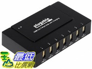 [106美國直購] 適配器 Plugable USB 3.0 7-Port 60W Hub with Charging USB3-HUB7BC