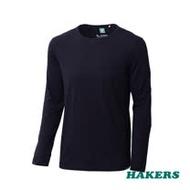 【HAKERS哈克士】男款 Dri-release 機能羊毛衫(黑色)