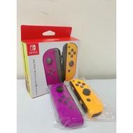 【現貨不用等】NS Switch JoyCon 手把 電光紫/橙 Joy-Con 任天堂 派對色 左右手把 紫橙 紫橘
