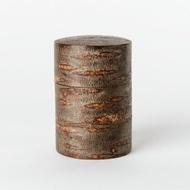 (預購優惠)日本製/角館/樺細工/櫻皮細工/霜降皮茶筒8.2cm×12.0cm 茶罐 茶葉罐