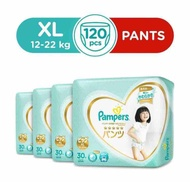 Pampers Premium Care Silky Pants XL (30 x 4 Packs)