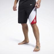 Reebok 全新 UFC 終極格鬥 黑色 紅白撞色 健身 訓練 拳擊 格鬥 短褲 運動短褲 運動褲 FJ5191