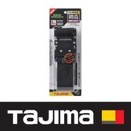 日本 田島Tajima 鍛造鋁插扣式S腰帶 L號 經典黑 BWBL145-BK
