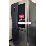 【降價!省電冰箱】LG 820公升敲敲看門中門冰箱 GR-QL88N(ikea Costco 特力屋好幫手)含運價