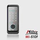 Milre 美樂 三合一密碼/指紋/卡片智能電子門鎖(MI-510F)(附基本安裝)