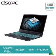 【CJSCOPE】▍預購 ▍RZ-988 15.6吋144Hz窄邊框 極致輕薄電競筆電 (i7-10875H 八核心/RTX-2060 6G/64G/512G PCIe/W10)