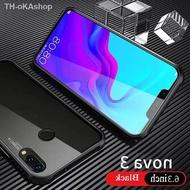 【เคสมือถือ】 เคสโทรศัพท์มือถือ แบบประกบสองด้าน แม่เหล็ก สำหรับ HUAWEI Y6p Nova5T Nova3 Nova4 Nova3i Nova7i Nova7SE Y5 2019 Y9s Prime Y9 2019 YMax