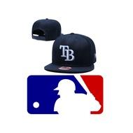 MLB 坦帕灣 TB 光芒 可調節 正式球員 帽 棒球帽