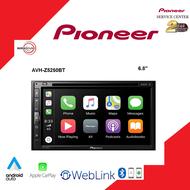เครื่องเสียงติดรถยนต์ Pioneer รุ่น AVH-Z5250BT  DVD RDS AV RECEIVERจอ2DIN มีบลูทูธ  รองรับ Android Auto/ Apple Car PlayและAppล่าสุด WebLink ดูyoutubeได้แบบง่ายๆ