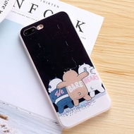 WE BARE BEARS iPhone 8 / 7 / 6S / 6 Plus Casing Protector Case Back Cover Soft TPU Ice Bear Grizzly