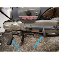 HONDA C70 GBO GBOJ step bar front rubber & rear footrest with rubber(combo set)