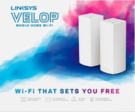 Linksys - Linksys - Linksys Velop Tri Band Mesh WiFi System (2支裝)