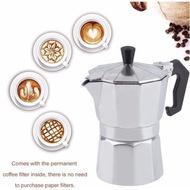 โปรโมชั่น Moka pot หม้อต้มกาแฟ เครื่องต้มกาแฟสด ทำกาแฟที่บ้าน ลดกระหน่ำ moka pot โมก้าพอทไฟฟ้า โมก้าพอท6คัพ โมก้าพอท