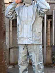《東レエントラント素材使用レインスーツ★まわるフードで快適》K-1600 キンカメエントラントスーツ サイズ5L