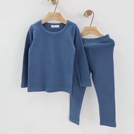 เด็ก Johhs ชุดเด็กทารกลองจอห์นชุดชั้นในเด็กเด็กความร้อนชุดชั้นในผ้าฝ้าย3-9Years สาวสีลูกอมสำหรับ