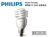 飛利浦/專業級 省電燈泡 T2螺旋燈泡 23W 220V 白光/黃光// 永光照明PH-23W22027XV%T2