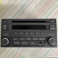 NISSAN原廠CD/MP3/USB主機LIVINA音響主機(全新)